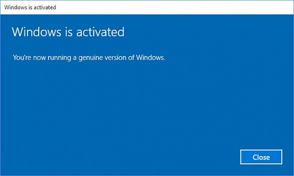 Change Windows 10 product key from Settings