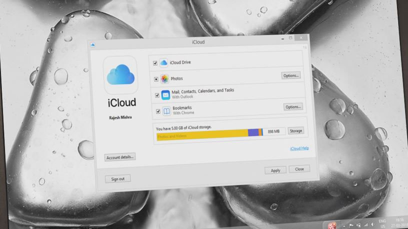 download icloud mail for windows 10