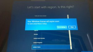 your windows license will expire soon but windows is activated