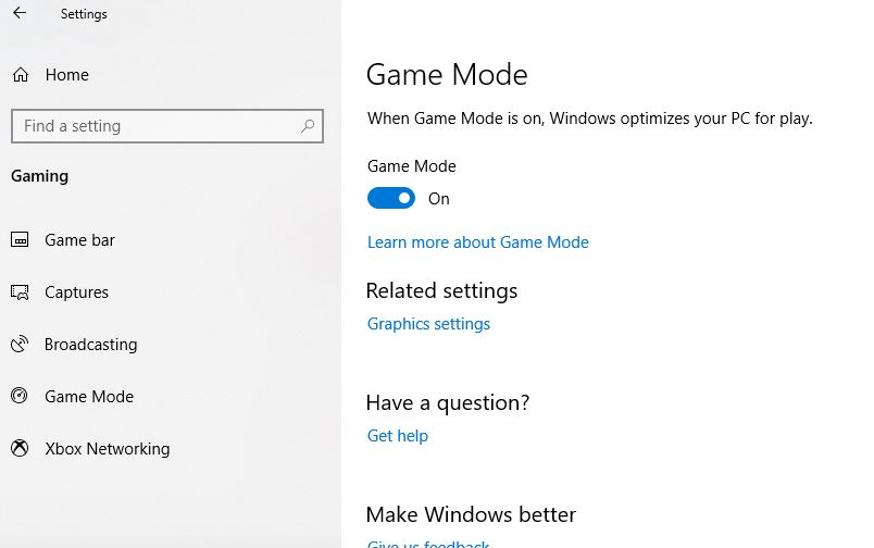 Optimize Windows 10 for Gaming with these 7 simple tweaks 2019