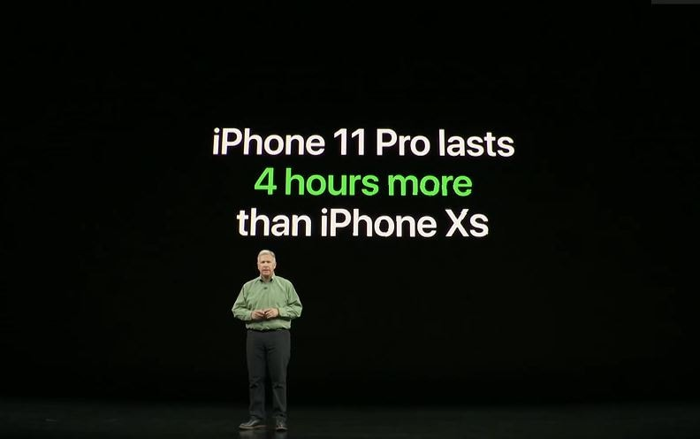 iPhone 11 deliver better battery life