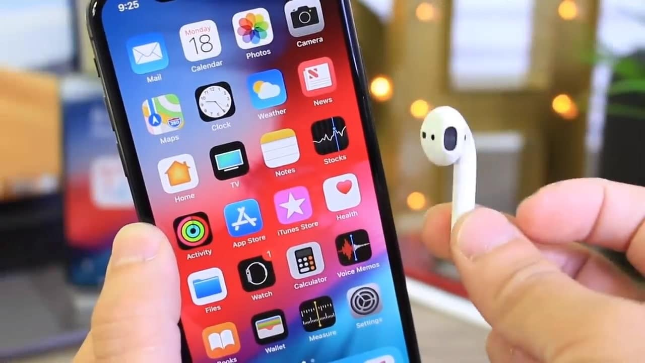 use live listen with airpods iOS 12