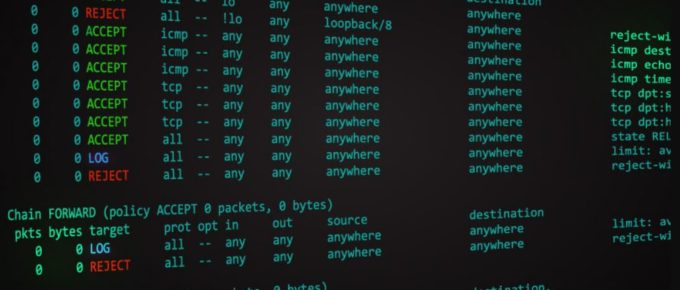 configure iptables in Linux