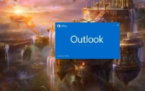 Outlook 2016 stuck on loading profile