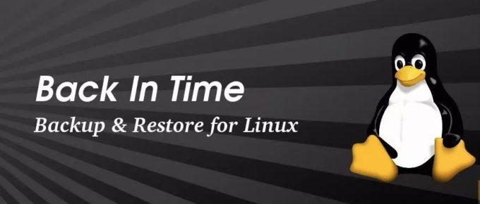 back up your Linux PC with BackInTime