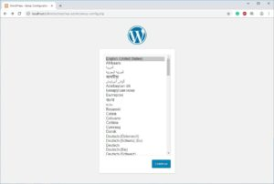 Install wordpress on local host