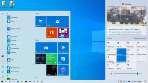 Windows 10 feature update install