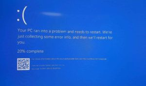 System service exception windows 10