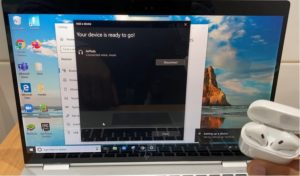connect AirPods to windows 10