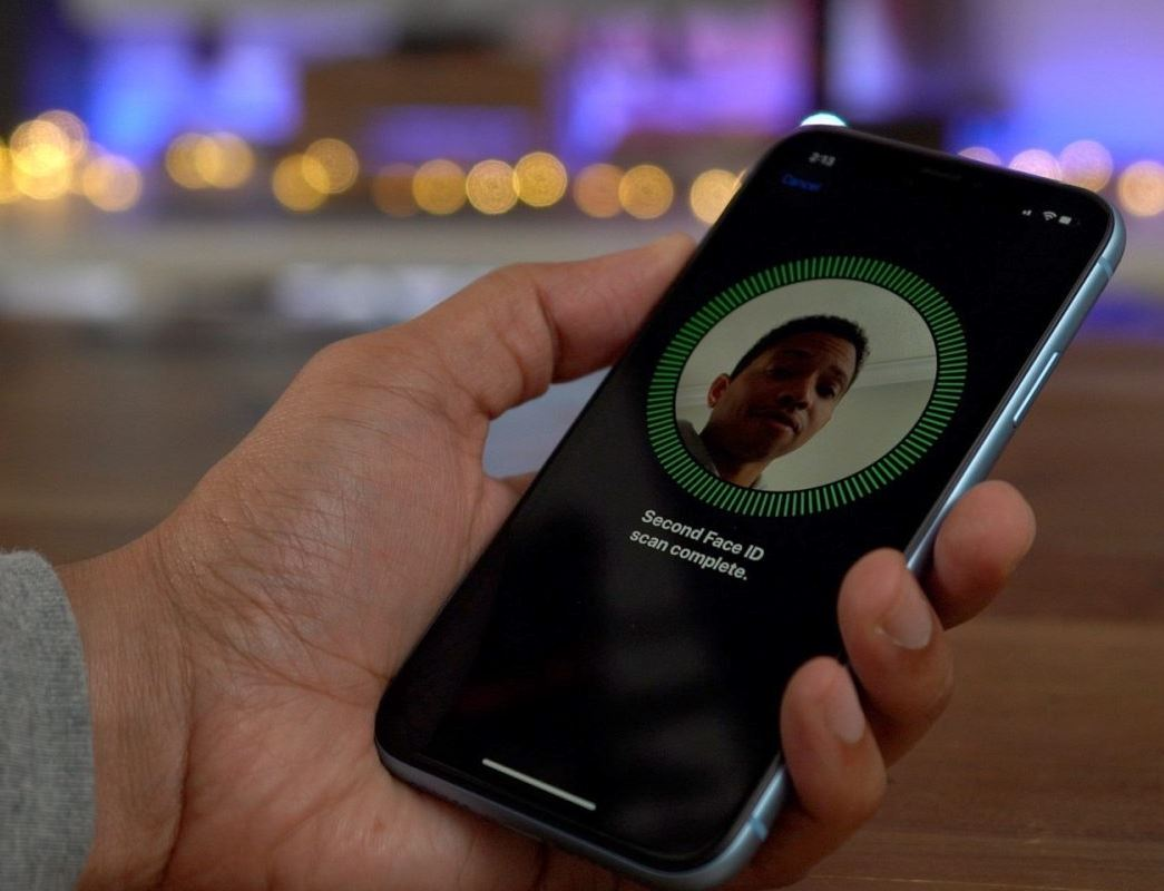 set up Face ID iPhone