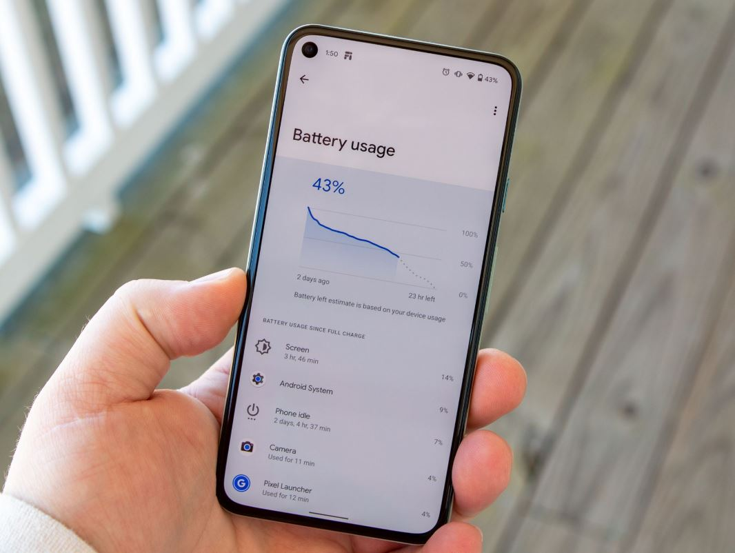 Battery Usage Screen Android
