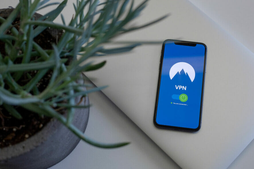 Use a VPN on an iPhone