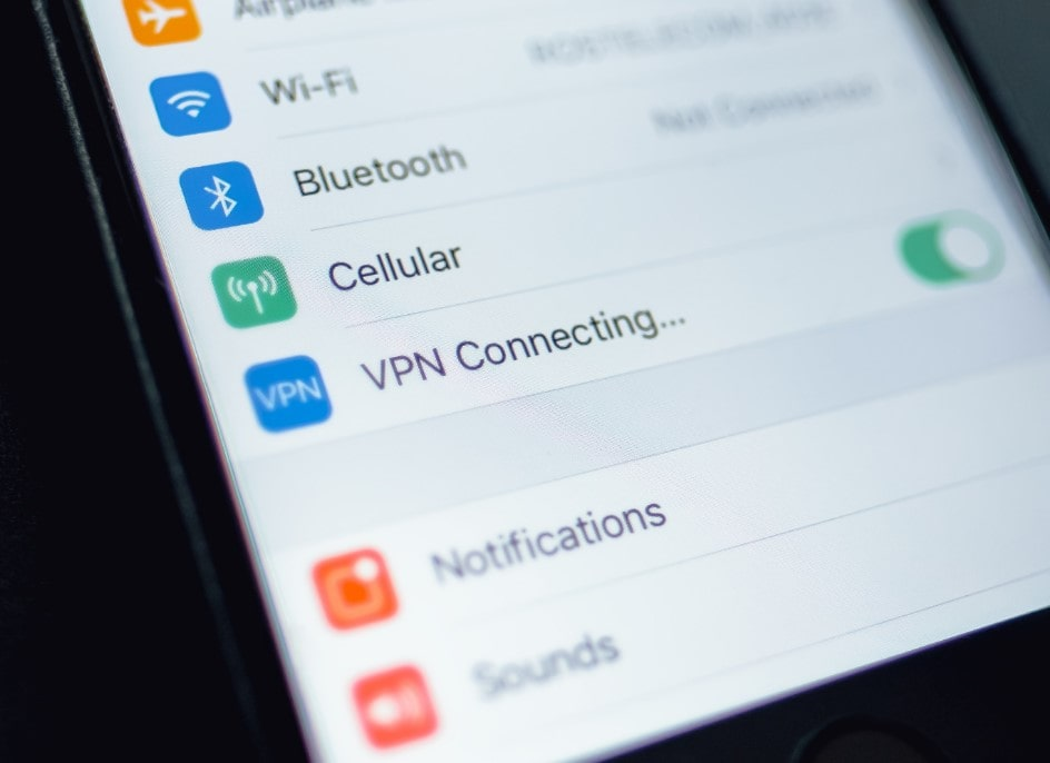 VPN connecting